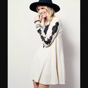 Free People New Romantics Black Forest Dress